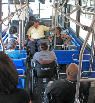 should the elderly receive free bus rides