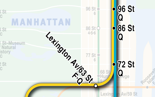 New Subway Map 2nd Ave.New York Second Avenue Subway Parks Infrastructure Yimby Forums