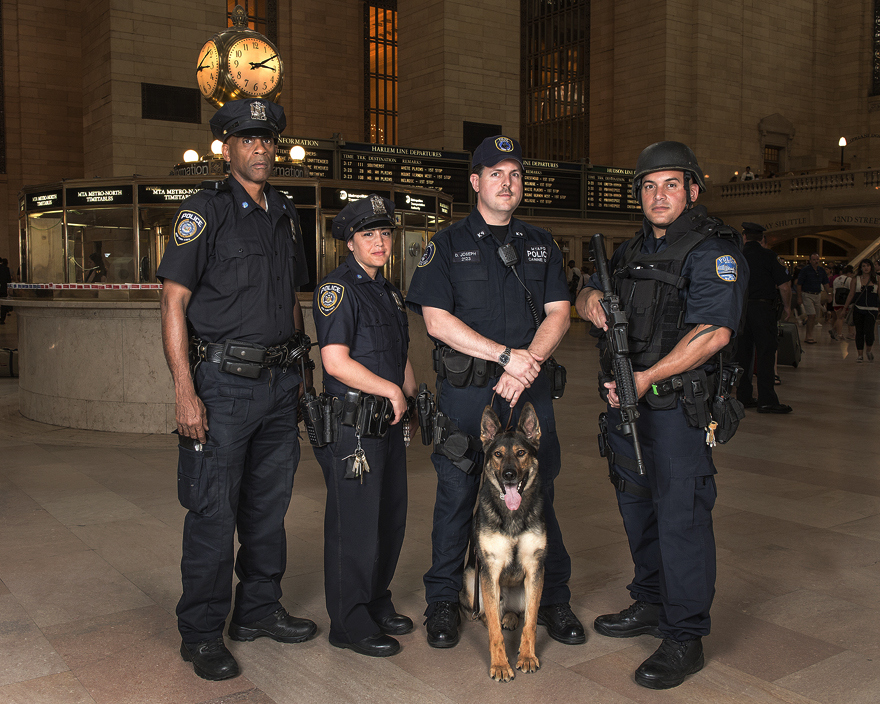 MTA Police Officers at Grand Central