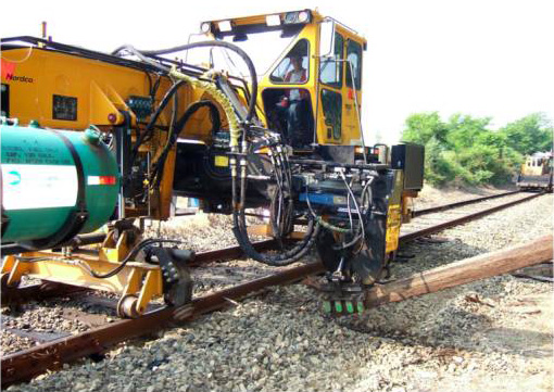 Tripp Machine, Purchased In 2005 Removes And Installs Ties