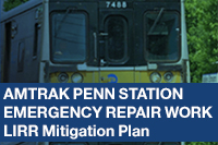 Amtrak Penn Station Emergency Repair Work