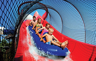 Splish splash bootleggers run new york s only water coaster