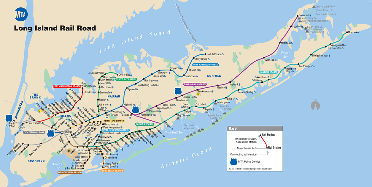 Nyc Mta Subway Map Pdf.Mta Lirr Lirr Map