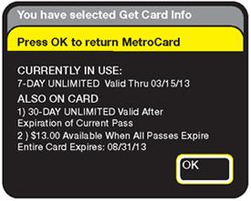 check metrocard balance online new york