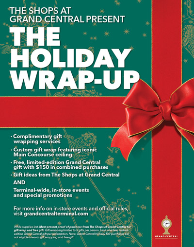 Christmas Gift Wrapping Service 15 December We are delighted to announce that once again we will be partnering with The Kingfisher Shopping Centre to provide our Christmas Gift Wrapping Service again this year.