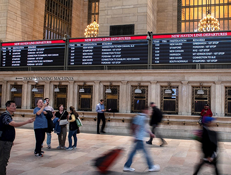 Grand Central Terminal Display