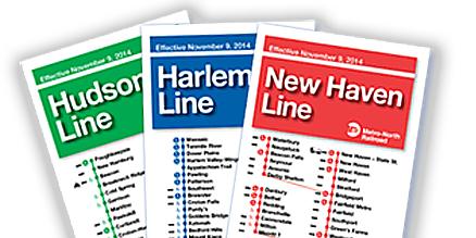 Hudson Line Schedule Changes