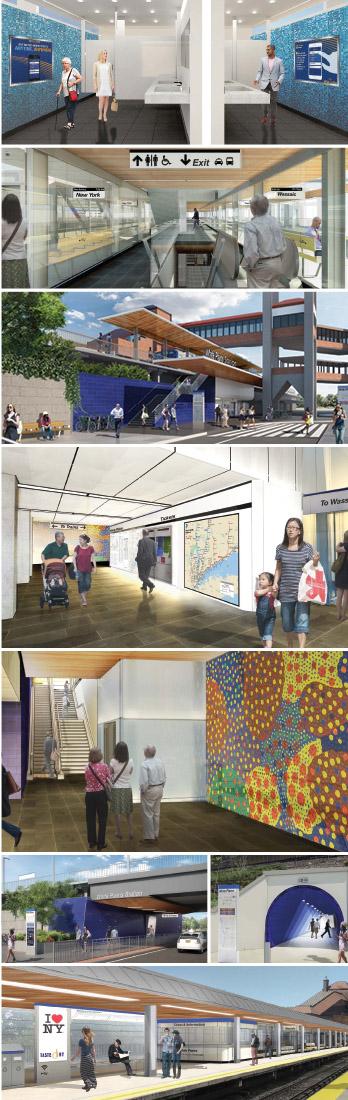 Station Improvement Collage