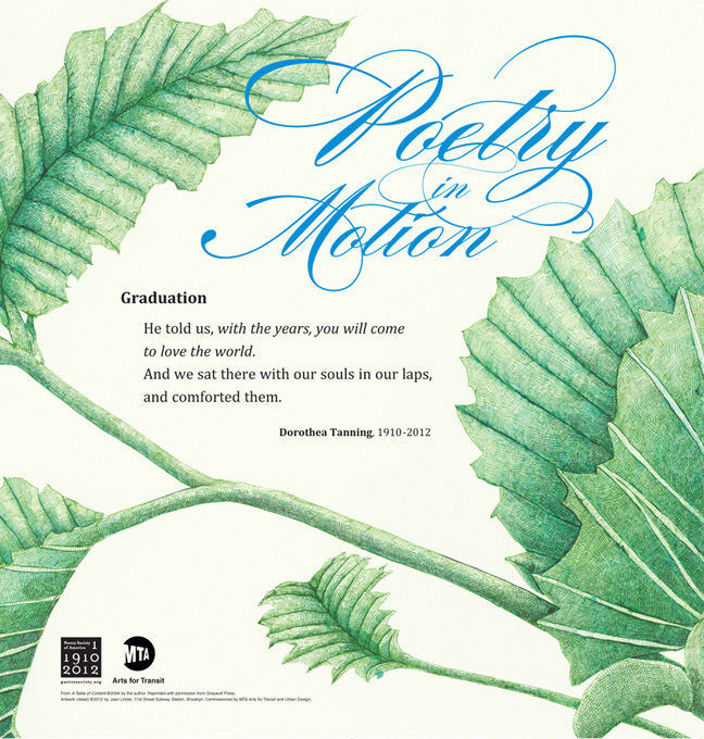 MTA - Arts & Design | Poetry