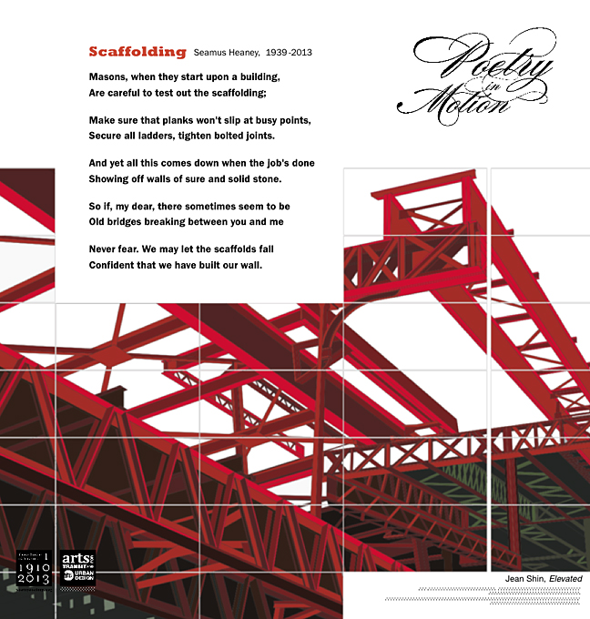 essay on the poem scaffolding by Scaffolding literary analysis skills  each day, our discussion comes back to  finding meaning in the poem and responding to that meaning.