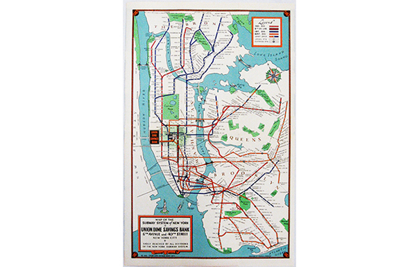 1940 Nyc Subway Map.Mta Info Celebrating 100 Years Of The Bmt