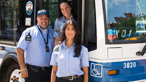 school bus driver salary nyc