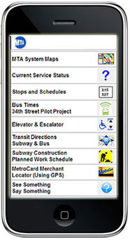 Nyc Subway Map Pda.Mta New York City Transit New For Iphones And Ipads