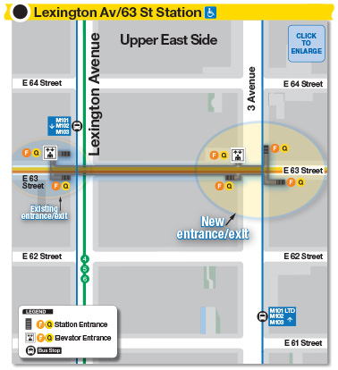 Brochure subway map