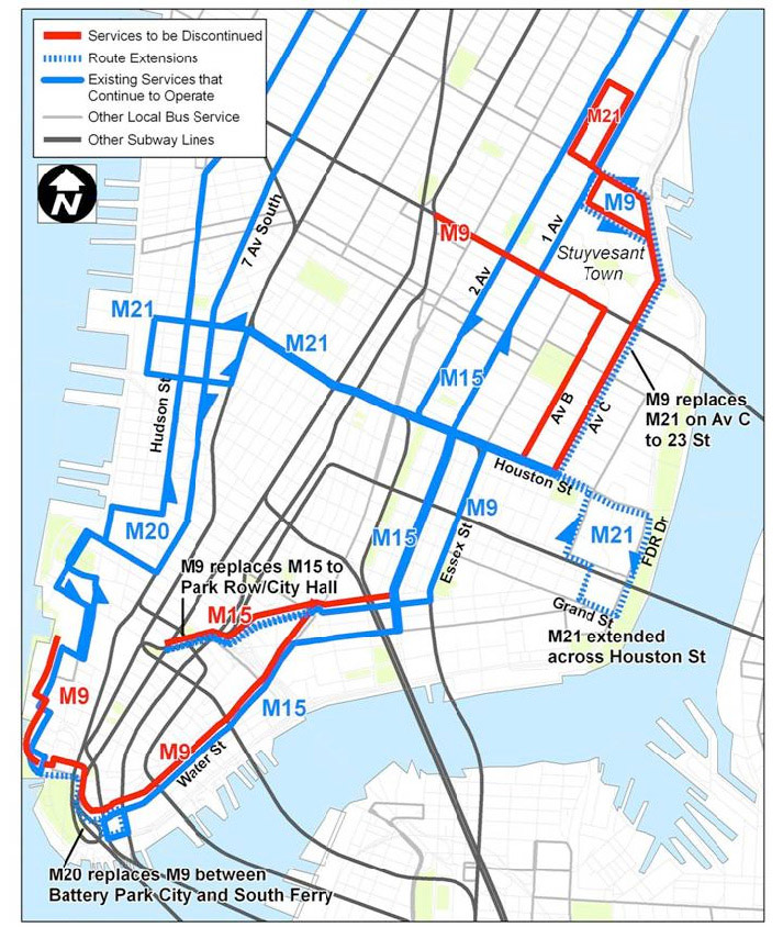 Mtanew York City Transit Nyc Transit 2010 Service Reduction Proposals