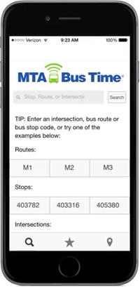 mta info | Select Bus Service