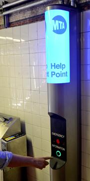 Help Point or Customer assistance intercom