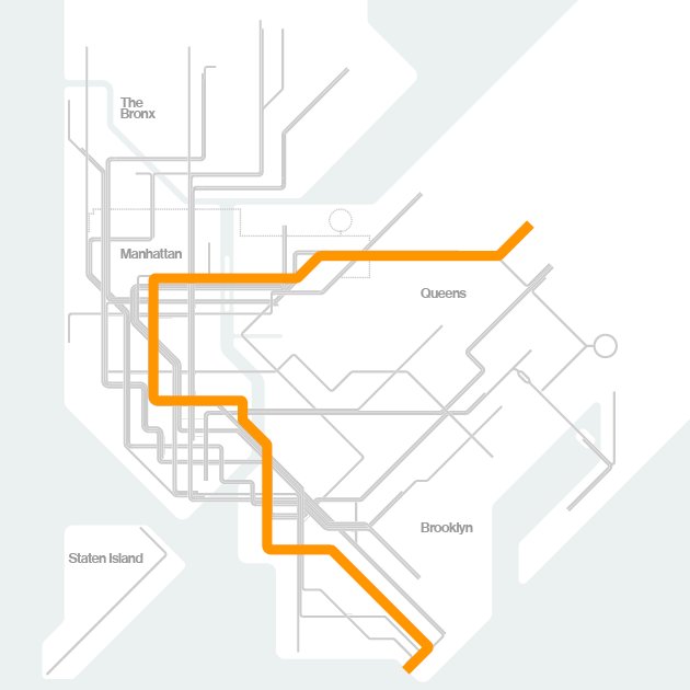 Queen Subway Map Nyc.Mta Info The Weekender